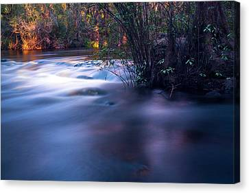 Up Stream Canvas Print by Marvin Spates
