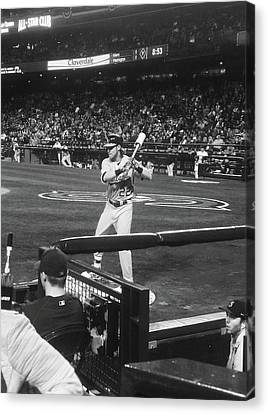 Up To Bat 2 Canvas Print by Danielle Yandell