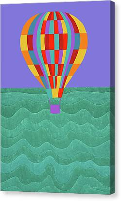 Canvas Print - Up Up And Away by Synthia SAINT JAMES