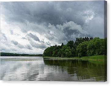 Turbulent Skies Canvas Print - Upcoming Storm by Georgia Mizuleva