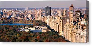 Upper East Side Central Park New York Canvas Print by Panoramic Images
