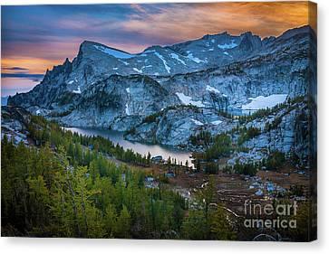 Alpine Canvas Print - Upper Enchantments by Inge Johnsson