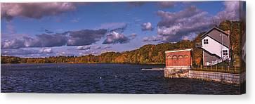 Upper Mystic Lake Canvas Print by Tim Casara