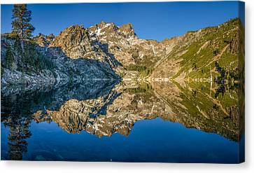 Upper Sardine Lake Panorama Canvas Print