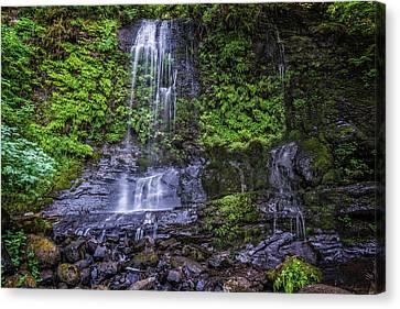 Upper Terrace Falls Canvas Print by Joe Hudspeth