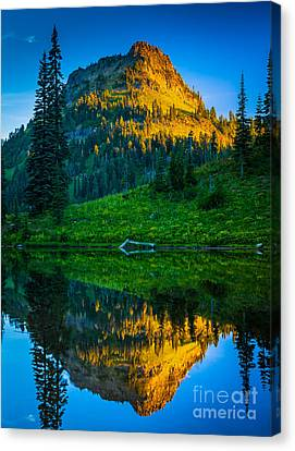 Spectacular Canvas Print - Upper Tipsoo by Inge Johnsson