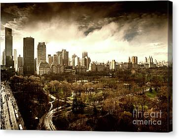 Upper West Side Of New York City Canvas Print
