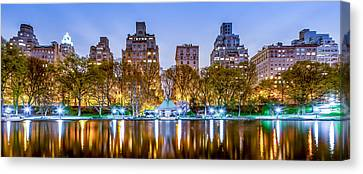 Upper East Side Reflections Canvas Print