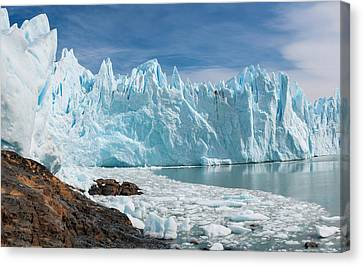 Upsala Glacier Canvas Print by Michael Leggero