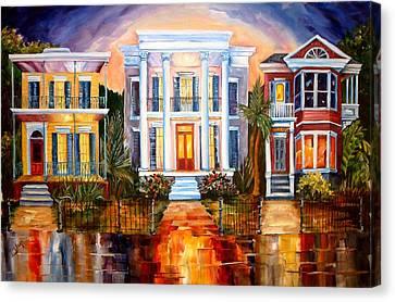 Uptown Tonight Canvas Print by Diane Millsap
