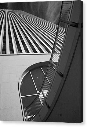 Upward And Outward Canvas Print by William Oswald