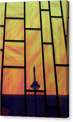 Upwards And Whatever Canvas Print by Jez C Self