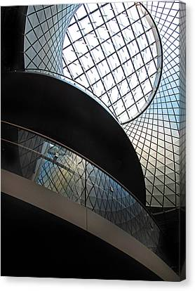 Skylight Canvas Print - Urban Abstract by Jessica Jenney