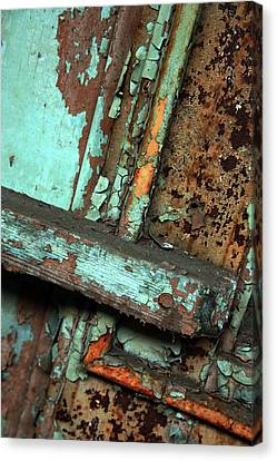 Urban Abstract Canvas Print by Joanne Coyle