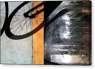 Urban Abstracts Compilations 18 Canvas Print by Marlene Burns
