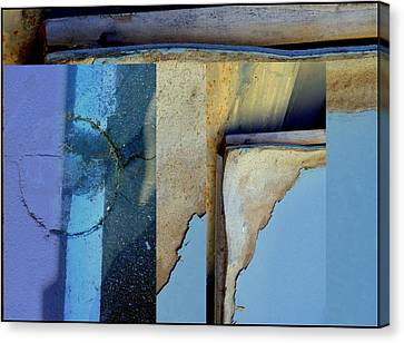 Urban Abstracts Seeing Double 62 Canvas Print by Marlene Burns