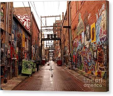 Urban Art Canvas Print