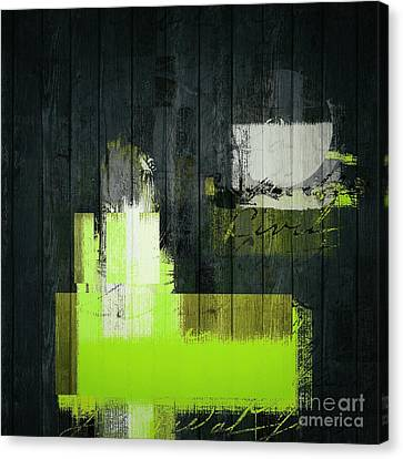 Urban Artan - S0112 - Green Canvas Print by Variance Collections