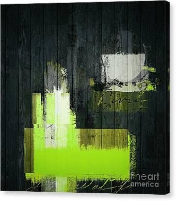 Urban Artan - S0112 - Green Canvas Print