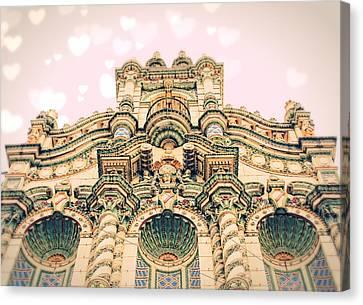 Urban Castle Canvas Print