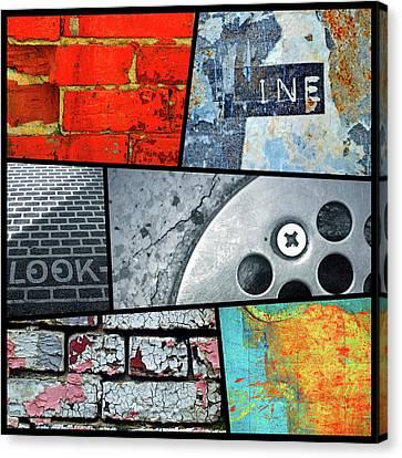 Urban Colours 2 Canvas Print