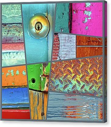 Urban Colours 3 Canvas Print
