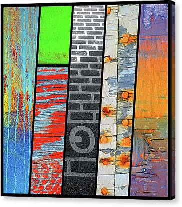 Urban Colours 5 Canvas Print