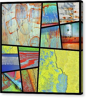 Urban Colours 6 Canvas Print