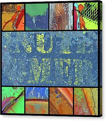 Urban Colours 7 Canvas Print