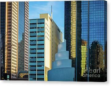 Urban Dallas Canvas Print by Inge Johnsson