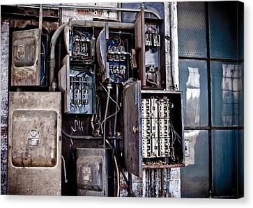old fuse box canvas prints and old fuse box canvas art for urban decay fuse box canvas print by edward myers