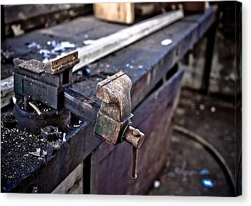 Urban Decay  The Vice Canvas Print by Edward Myers