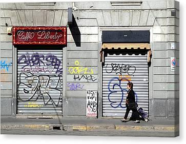 Urban Desert Canvas Print by Valentino Visentini