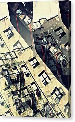 Urban Distress Canvas Print by Sarah Loft