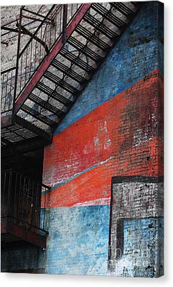 Urban Firescape Canvas Print