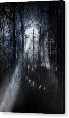 Ghost Story Canvas Print - Urban Legends by Jeremy Martinson