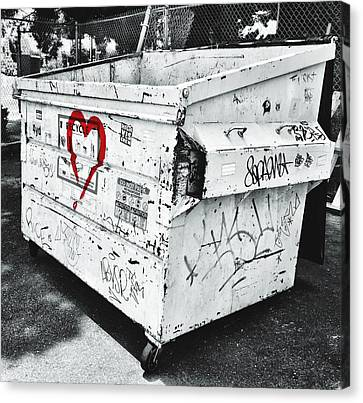 Urban Love Canvas Print