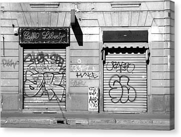 Urban Nothing Canvas Print by Valentino Visentini