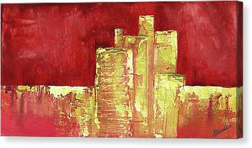 Urban Renewal I Canvas Print by Shadia Derbyshire
