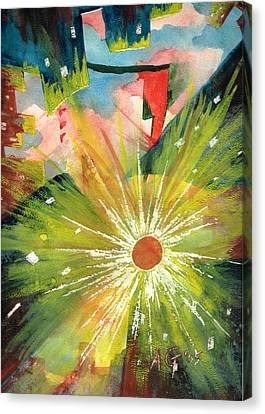 Urban Sunburst Canvas Print