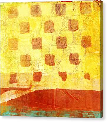 Urban Sunset Number 4 Of 4 Canvas Print by Carol Leigh