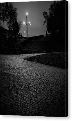 Canvas Print featuring the photograph Urban Wave by Antonio Jorge Nunes