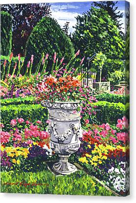 Canvas Print - Urn Of Color by David Lloyd Glover