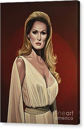 Ursula Andress 2 Canvas Print by Paul Meijering