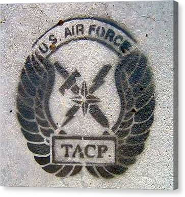 Us Air Force - Tacp Canvas Print by Unknown