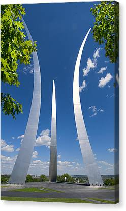 U.s. Air Force Memorial Canvas Print