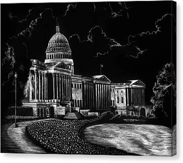 U.s. Capitol Canvas Print by Lindsey Jaeger