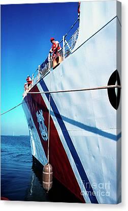 Us Coast Guard  Canvas Print by Thomas R Fletcher