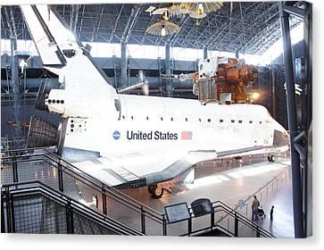 First Space Shuttle Enterprise Canvas Print by Art Spectrum