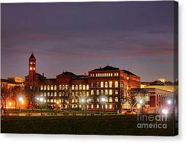 Us Forest Service Building Canvas Print by Olivier Le Queinec